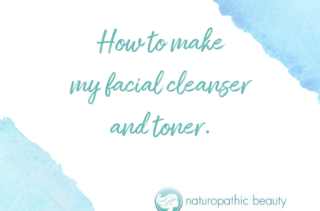How to make an acne-fighting cleanser and toner