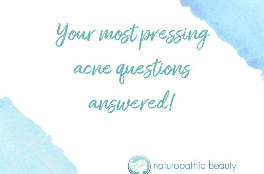 Your most pressing acne questions answered!