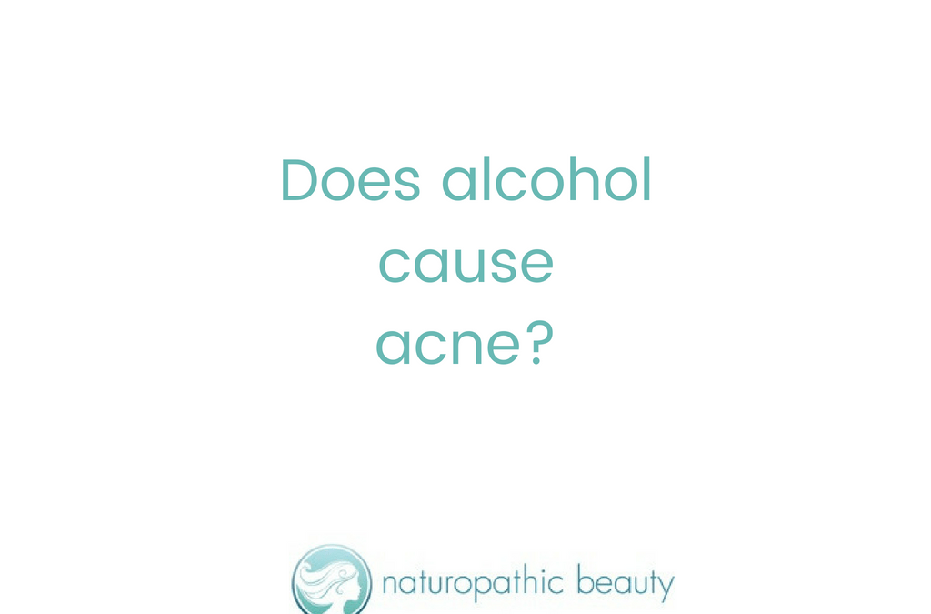Alcohol and Acne