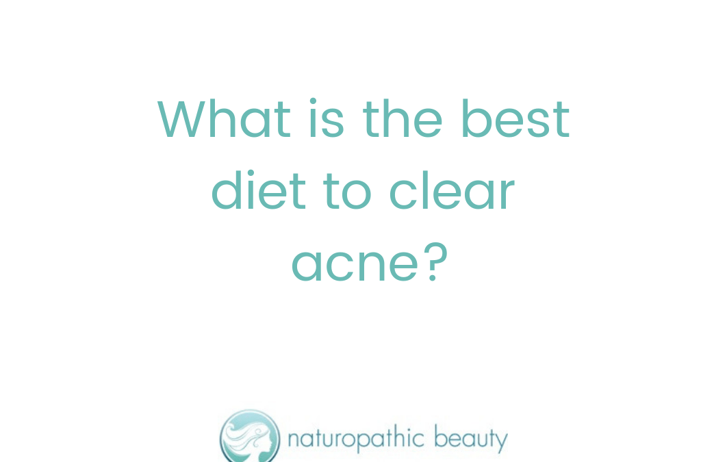 What is the best diet for clear skin?
