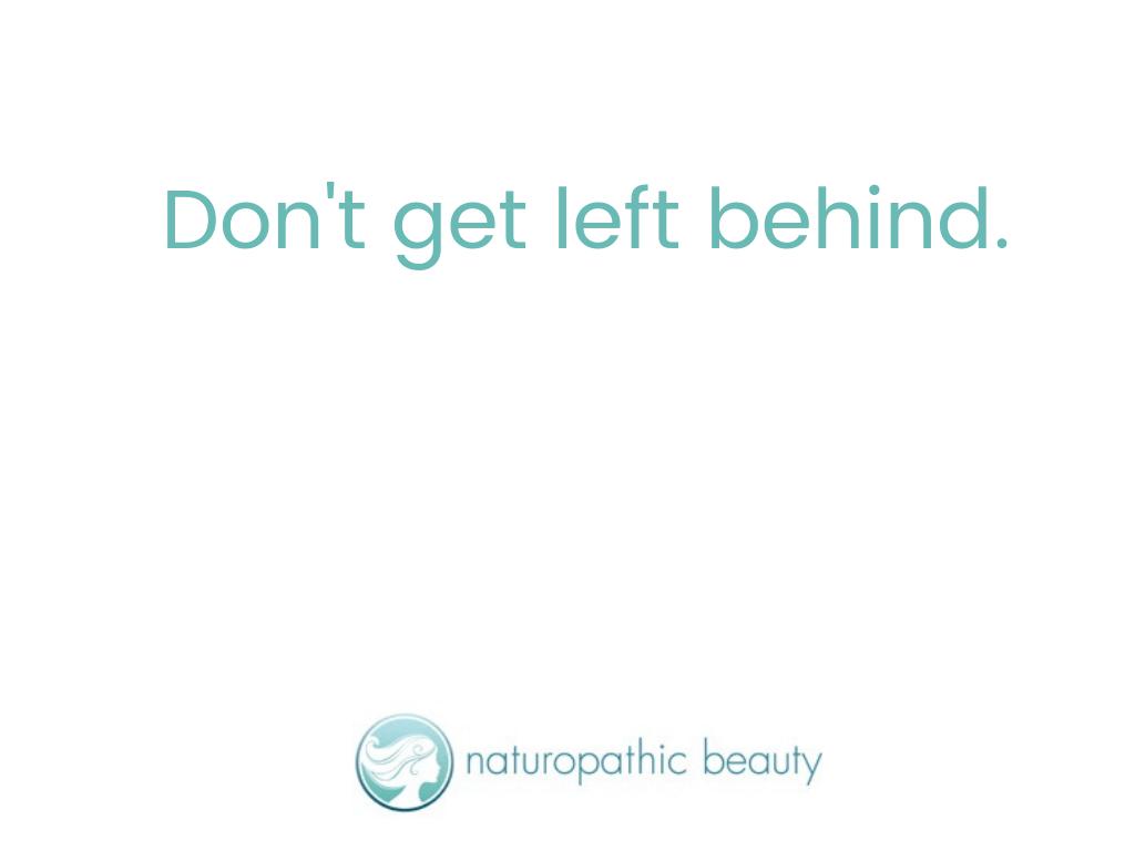Don't get left behind.