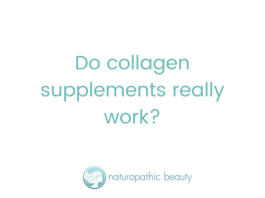 Do collagen supplements really work?