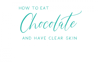 How to have clear skin AND eat chocolate.